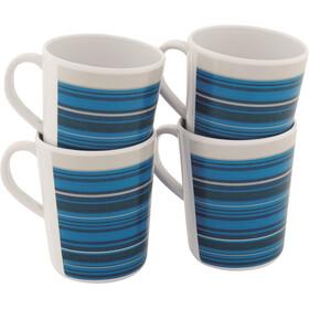 Outwell Blossom Mug Set 4 Pieces, columbine blue